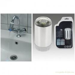 Robinet économiseur d'eau à leds