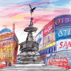 Carte Picadilly Circus
