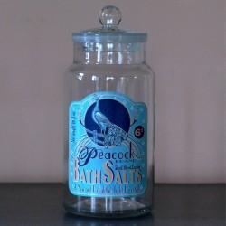 Jarre en verre Bath Salts