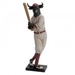 Statuette Taureau Baseball