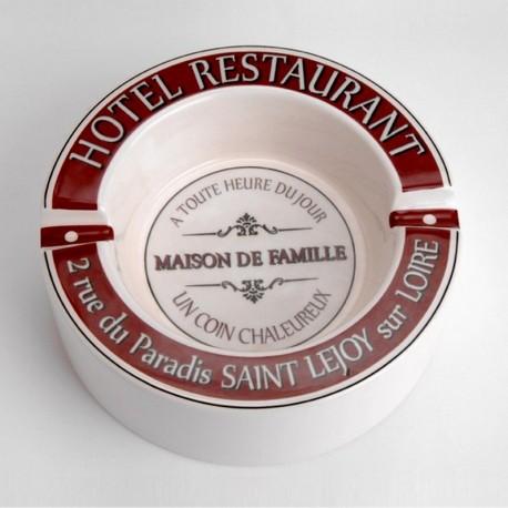 Cendrier Hôtel Restaurant Maison De Famille