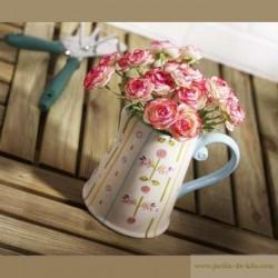 Pichet fleurs
