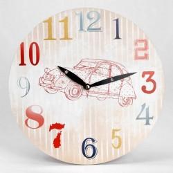 Horloge ronde 2CV Citroën