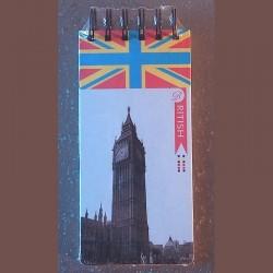 Carnet listes de courses British Big Ben