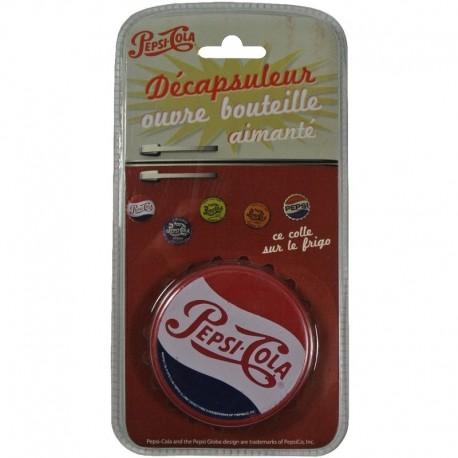 Décapsuleur aimanté Pepsi-Cola rouge