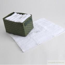 Panier 4 serviettes convives