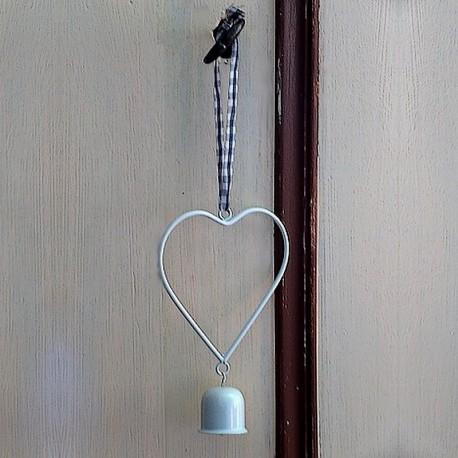 Petit coeur suspension métal