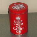 "Boite métal ""Keep Calm And Carry On"" PM"
