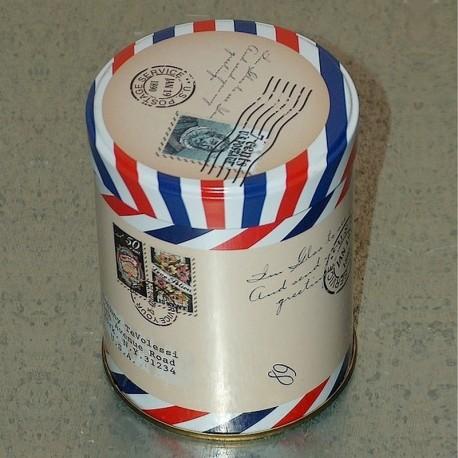 Boîte métal couvercle U.S. Postage