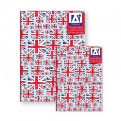 Pack carnets A5 & A6 UK British Flag Design