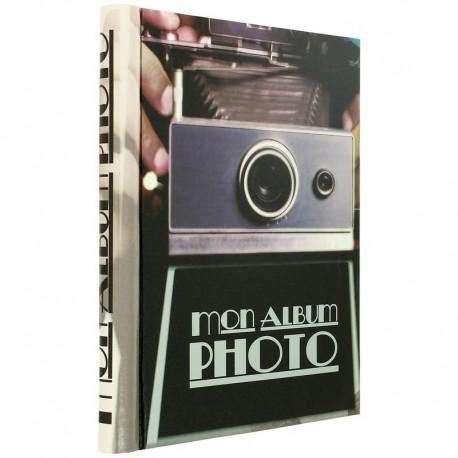 album photo trompe l 39 oeil appareil photo vintage d co r tro. Black Bedroom Furniture Sets. Home Design Ideas