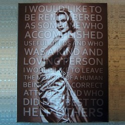 Toile tendue actrice Grace Kelly