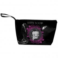 Trousse de toilette noire Betty Boop
