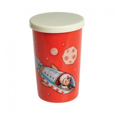 Gobelet Spaceboy Fusée