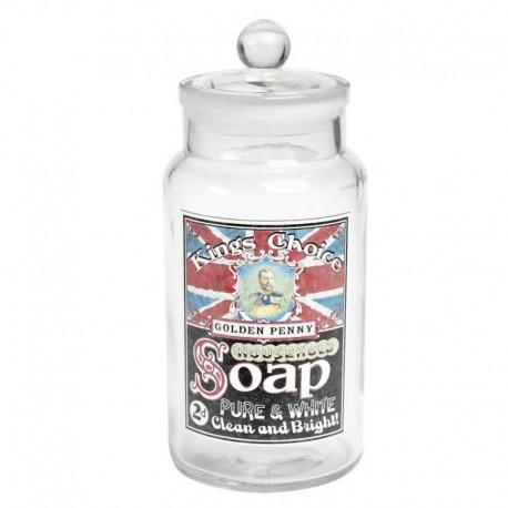 Jarre en verre - Bocal UK King Soap