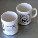 Mug en grès Route US 66