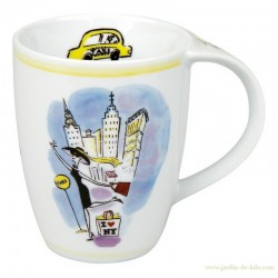 Mug Konitz New York Taxi