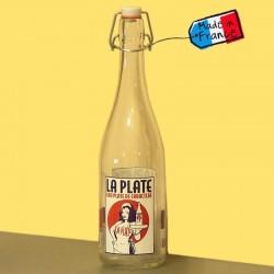 Bouteille à eau La Plate style limonade