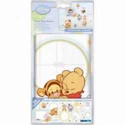 34 stickers muraux Winnie Disney Baby