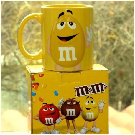 Mug M&M's Jaune