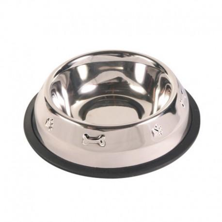 Gamelle inox pour chien 16 cm