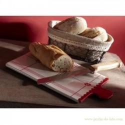 Planche à découper et couteau à pain
