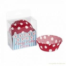 Moules pois cupcakes retro spot