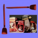 Doseur-Clip rouge pour sacs aliments animaux