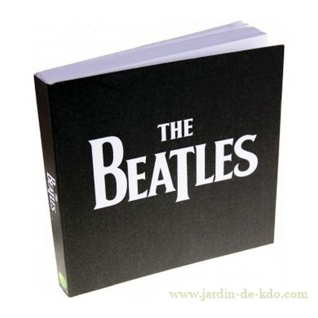 Carnet carré The Beatles logo