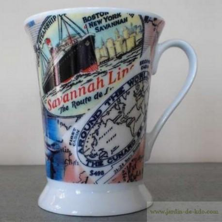 Mug Savannah Line Boston New York