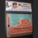 """Cahier de recettes """"Peanut Butter"""" avec stylo"""