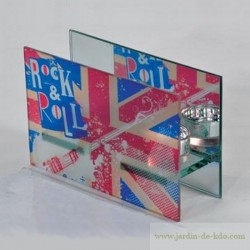Photophore Union Jack Rock & Roll