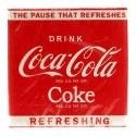 Pack de 20 serviettes Coca