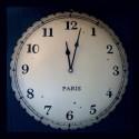Horloge ancienne Paris
