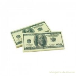 Serviettes en papier 100 Dollars