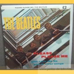 "Carte ""Please Please Me – The Beatles"""
