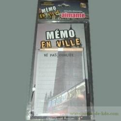"""Mémo Ville """"Londres"""""""