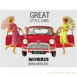 Plaque Morris Mini Pub