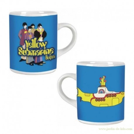 Mug Yellow Submarine The Beatles Seventie