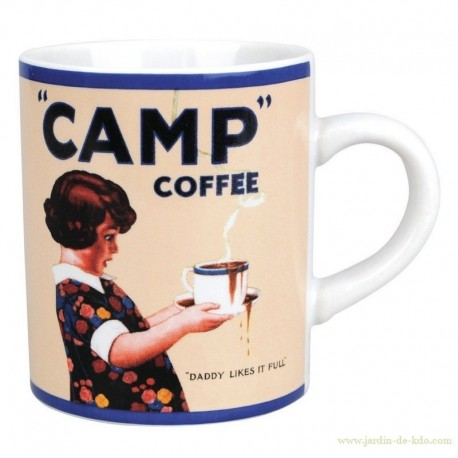 Mug Camp Coffee Daddy Likes It Full
