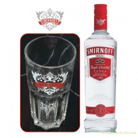 Grand Verre Vodka Smirnoff Cocktail