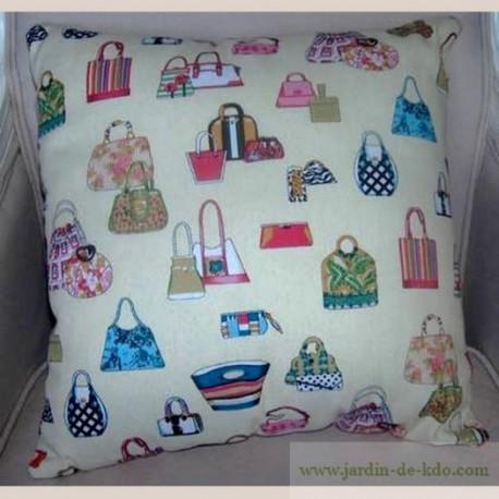 Coussin sacs de ladies déco stylée