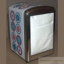 """Distributeur de serviettes """" Fleurs 70's """""""