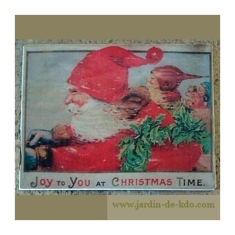"""Aimant """"Père Noël à toute allure"""""""