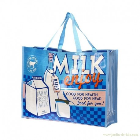 Sac shopping vintage Milk Enjoy Good For Head