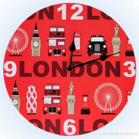 Horloge Pictos London Roue Colonne Nelson