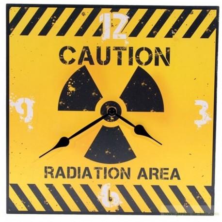Horloge Danger Caution Radiation Area Indus.