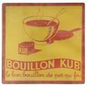 """Dessous de plat en verre """"Kub"""""""