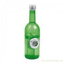 """Horloge à eau """"Bouteille verte"""""""
