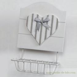 Porte-Savon Coeur Capucine Amadeus